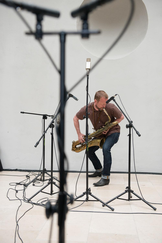 Performacne Matsa Gustafssona, fot.Bartosz Górka, CC BY-SA