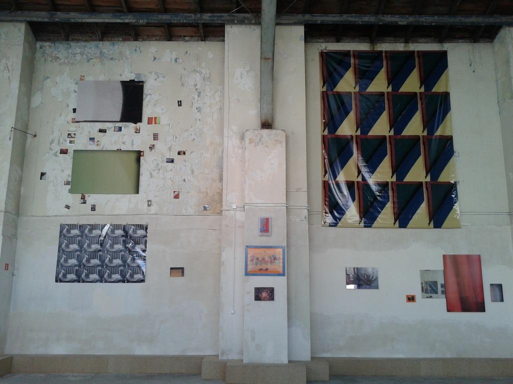 widok wystawy Nampeia Akaki, GO UP, Get Together
