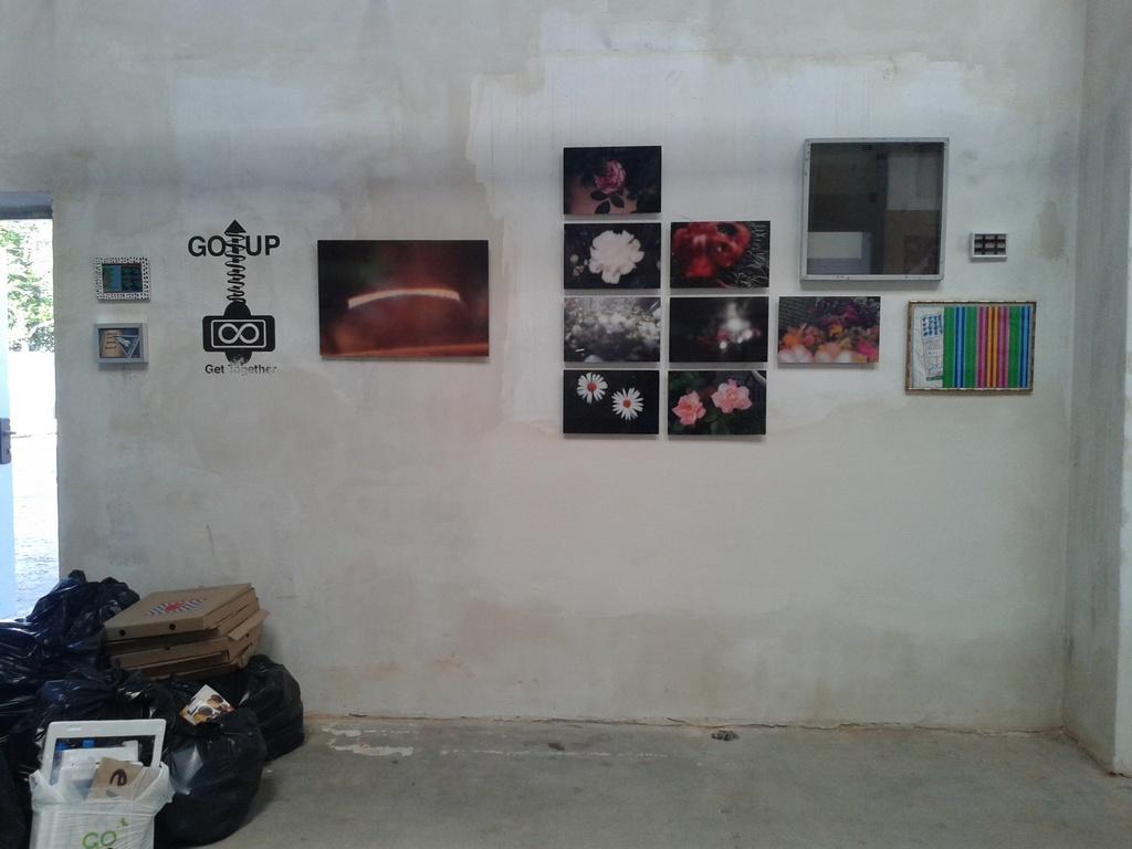 wystawa Nampeia Akaki, widok
