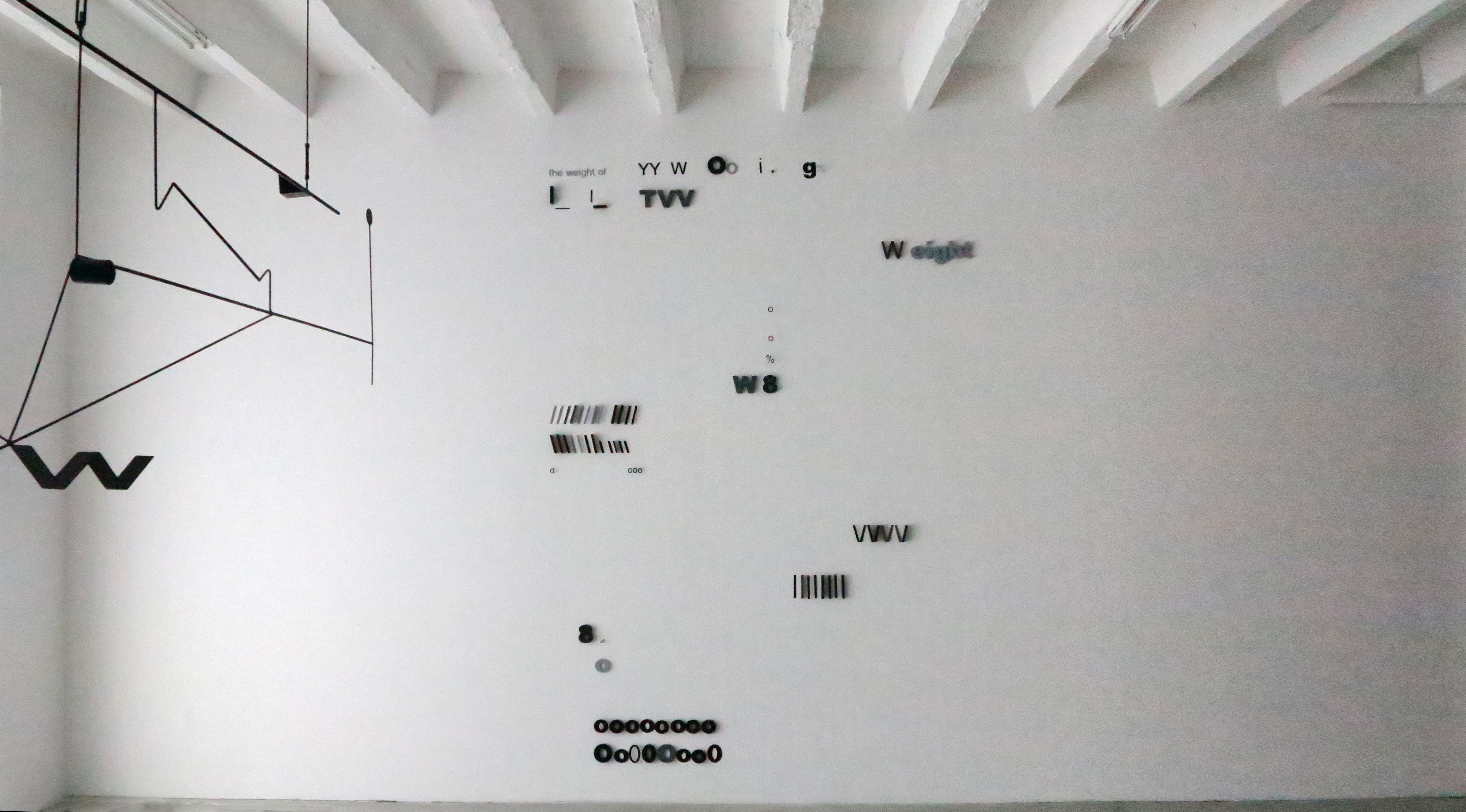 Wystawa The weight of 8 wgalerii  Żak/Branicka wBerlinie, czerwiec 2013; zdjęcia dzięki uprzejmości galerii