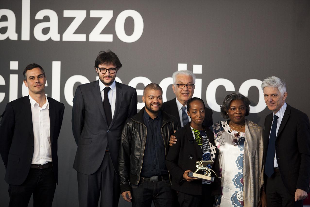 Massimiliano Gioni, Stefano Rabolli Pansera, Edson Chagas iPaula Nascimento. Zdjęcie, Italo Rondinella