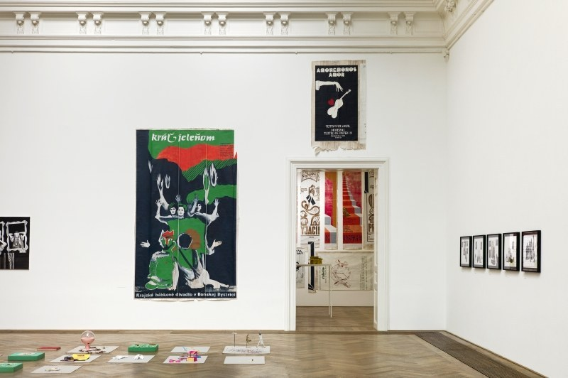 Paulina Olowska, Pavilionesque, Installlationsansicht Kunsthalle Basel 2013