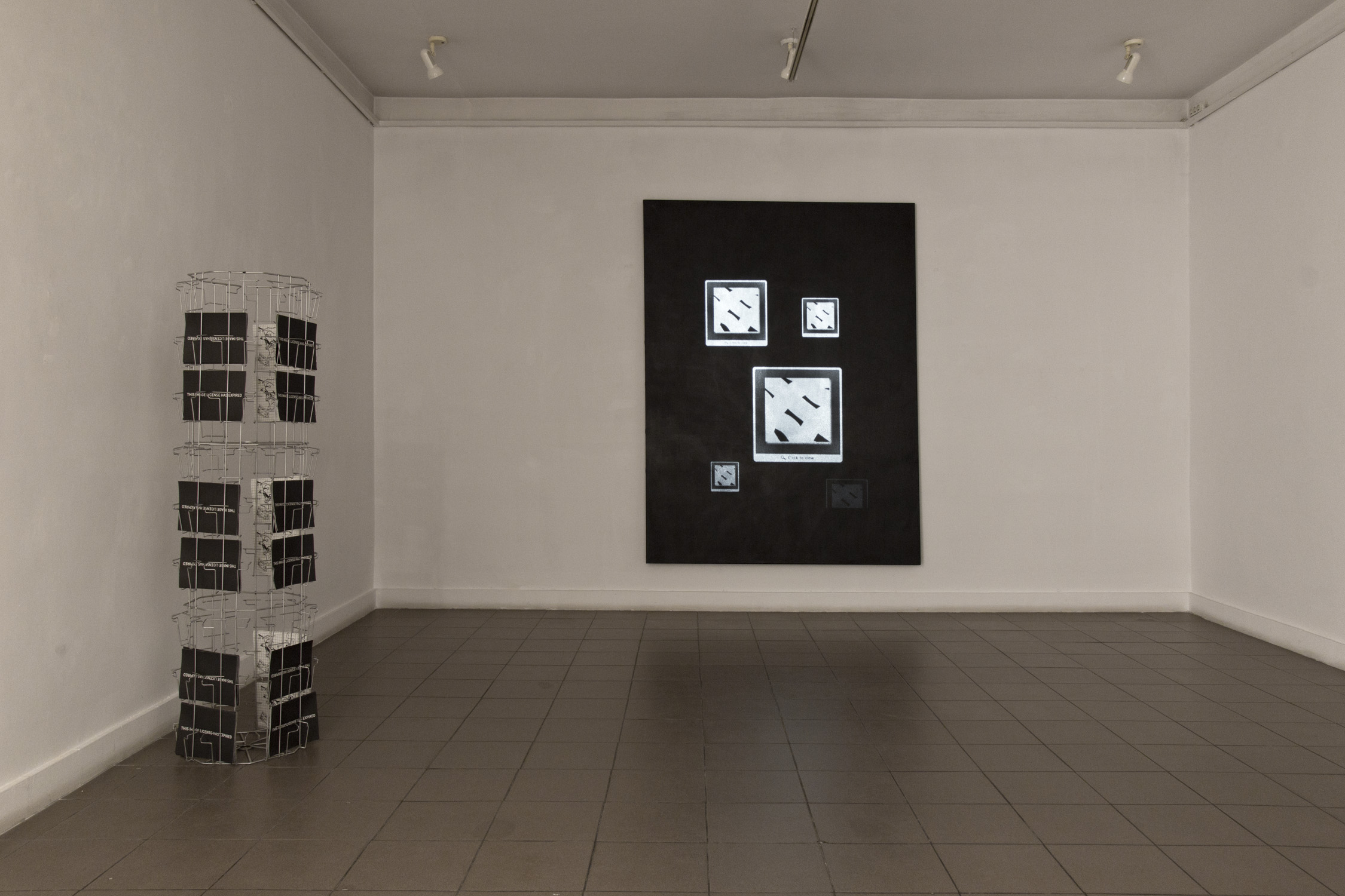 Agnieszka Grodzińska, Graphic Leftovers 2013 instalacja