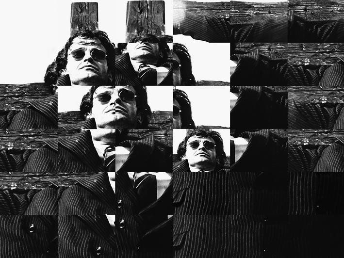 """Ryszard Waśko, """"Portret pocięty"""", 1971"""