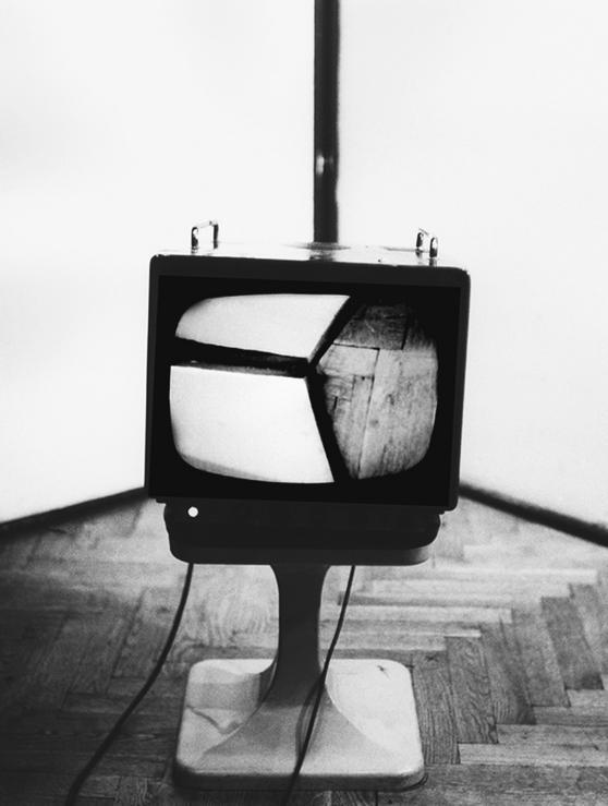 "Ryszard Waśko, ""Róg"", 1976"