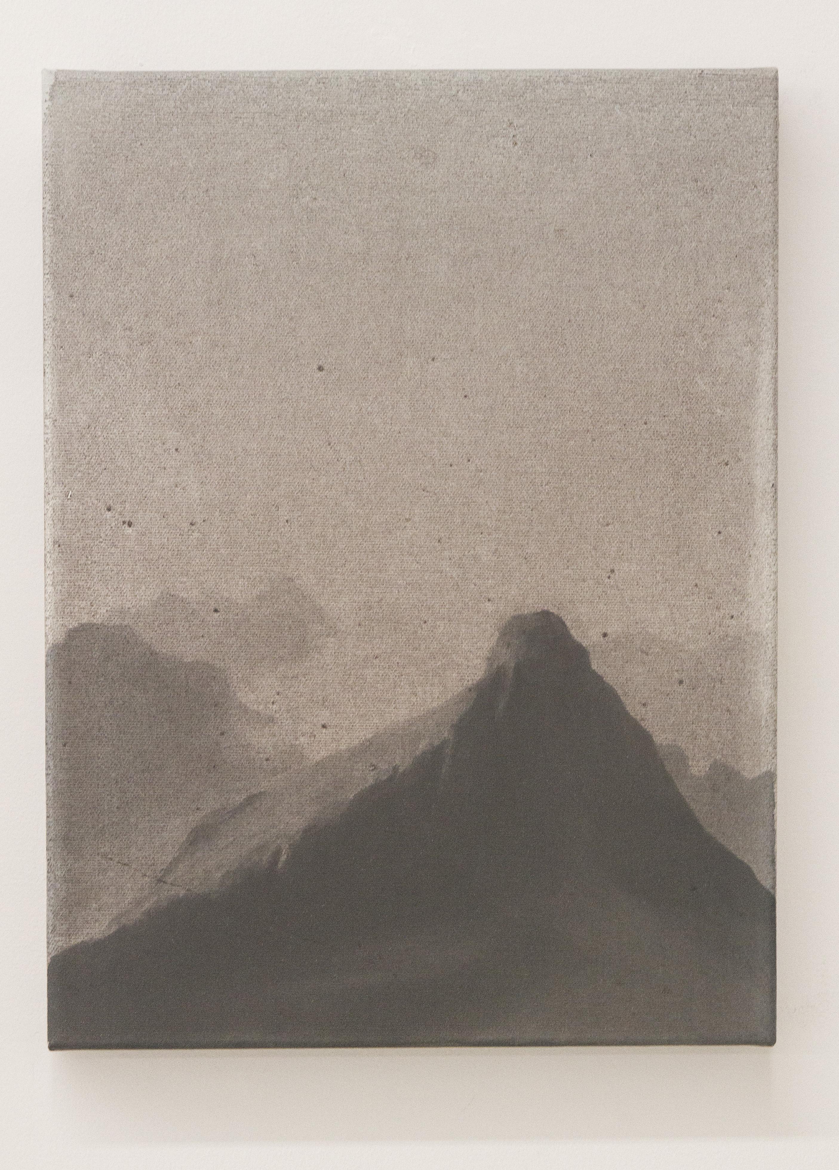 Aleksander Ryszka, Tatry 1900, 2013, olej:plotno, 40x30 cm