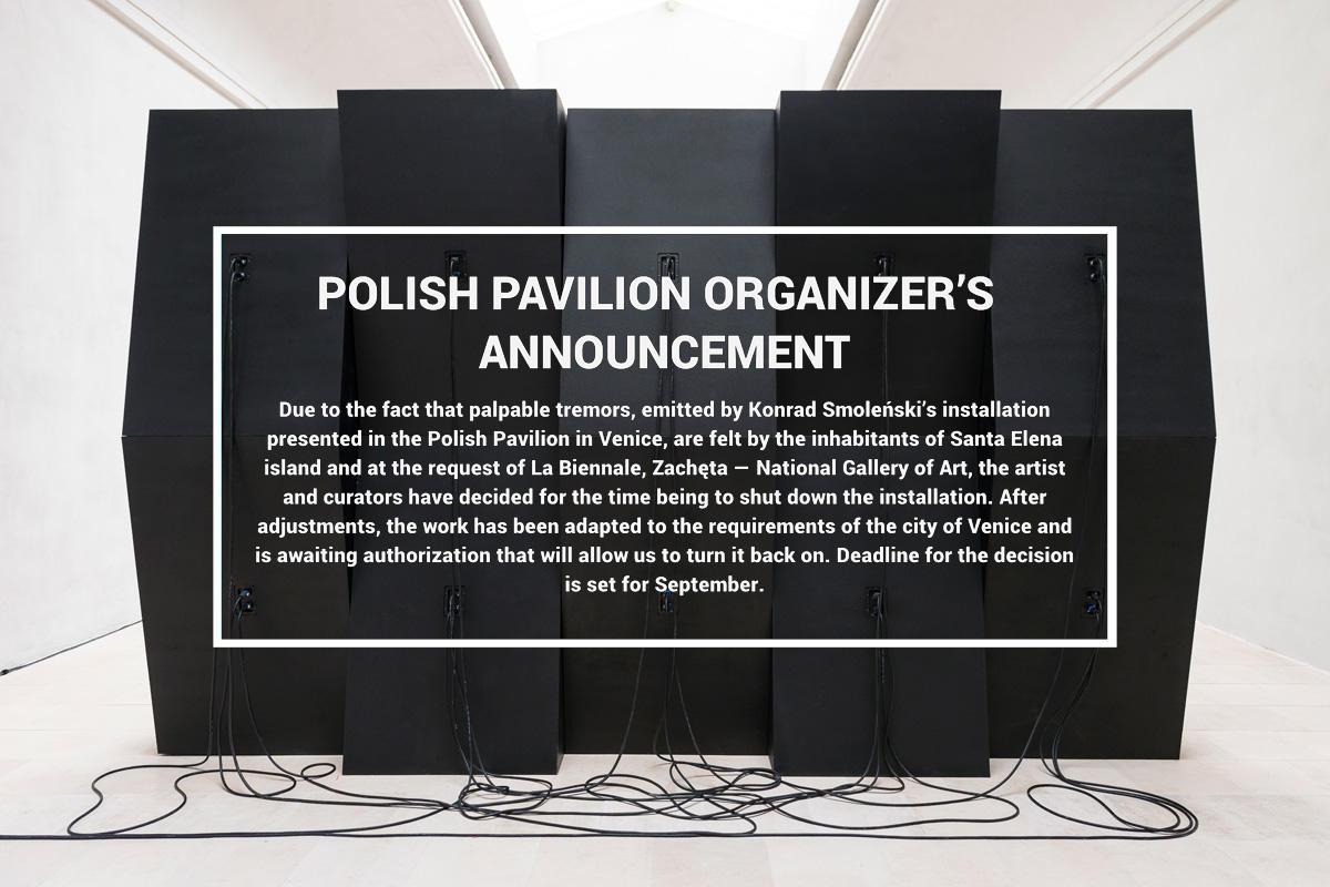 WENECJA 2013: Polska wersja tekstu kuratorskiego (instalacja Konrada Smoleńskiego znów działa!)