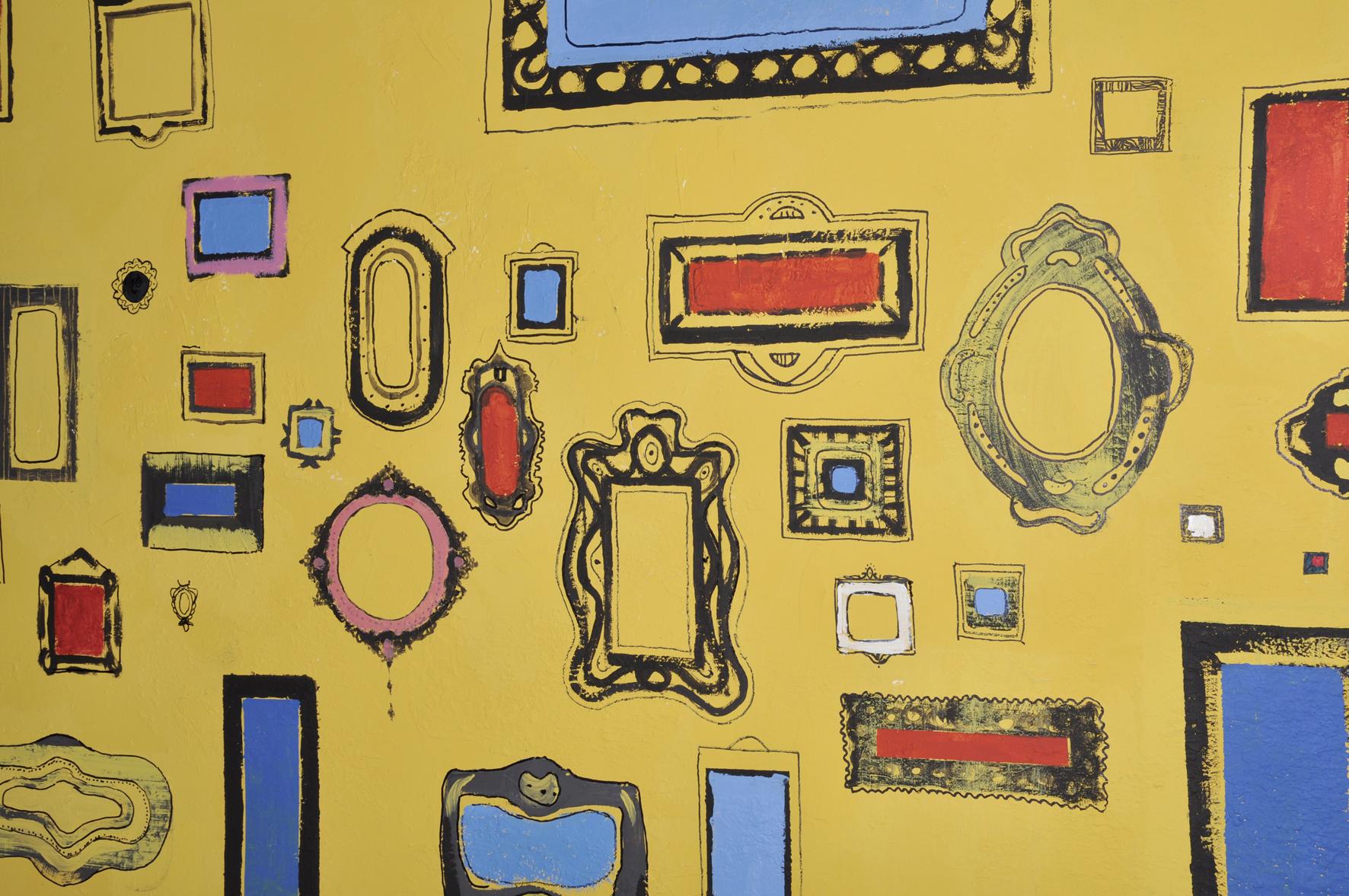 Ku Afryce mural Grupy Banda