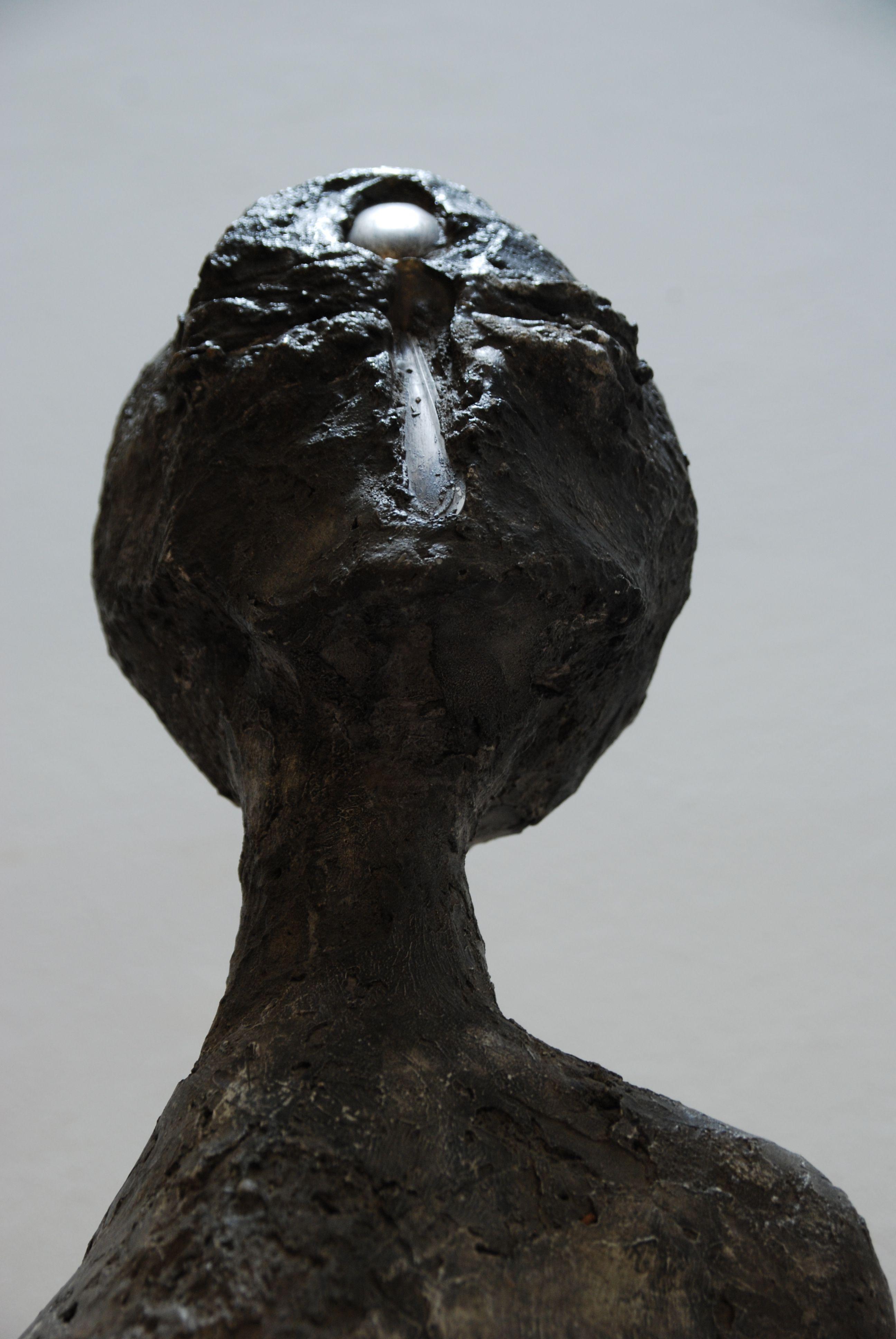 """Alina Szapocznikow, """"Kobieta złyżką"""", 1966, MNK. fot.A. Zgirska"""