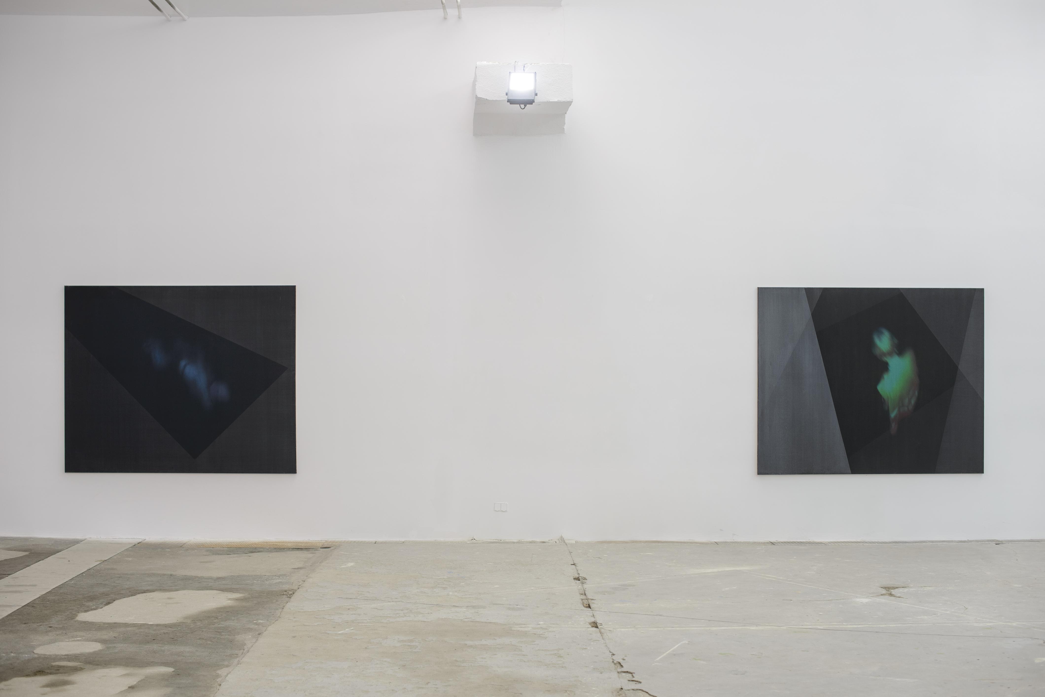 "Dominik Lejman, ""Pływak nauwięzi"" (2009), ""Let me jump"" (2009)"