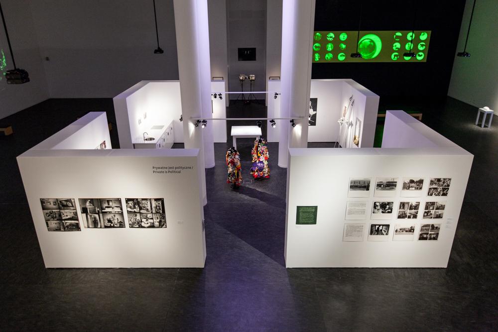 """""""Mikroutopie codzienności"""", widok ogólny wystawy.  Dzięki uprzejmości CSW wToruniu"""