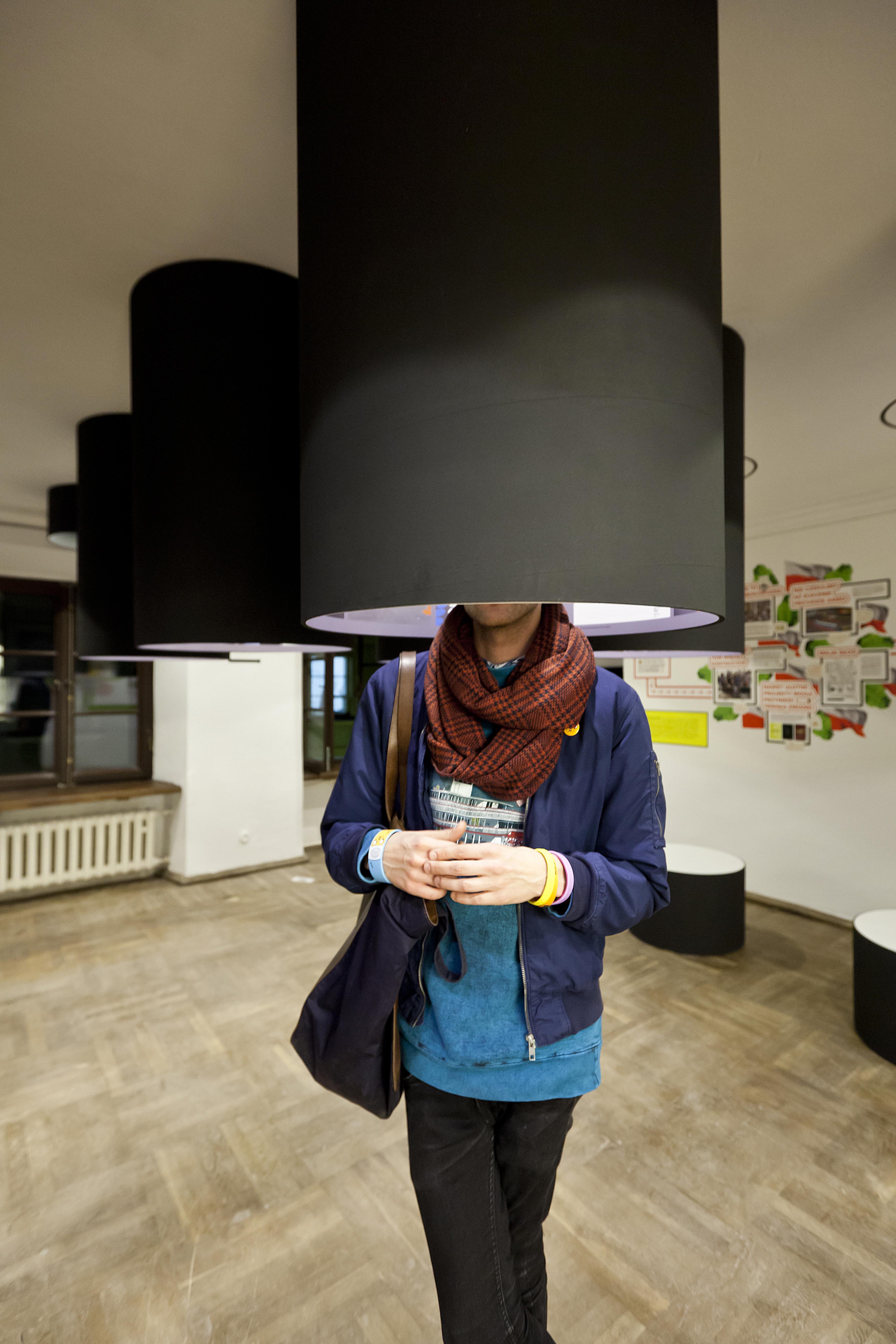 """Wystawa """"Zawód: Architekt"""", fot.Bartosz Stawiarski"""