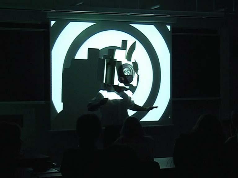 "Pattern in Us All"", 2009, performans, dokumentacja wideo, 37:38 min."