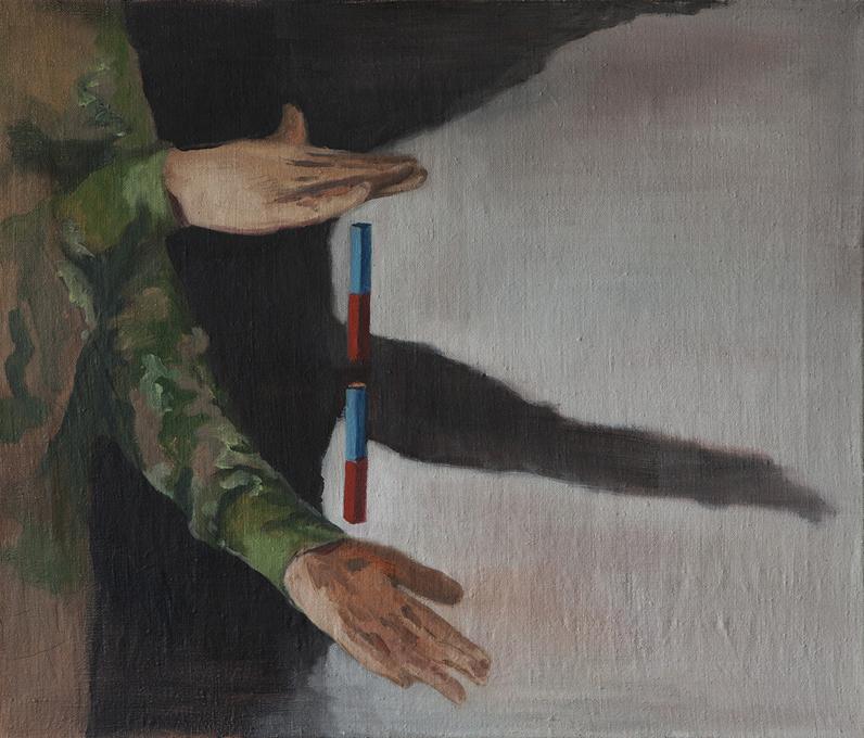 "Mikołaj Małek, ""The action"", 2013"