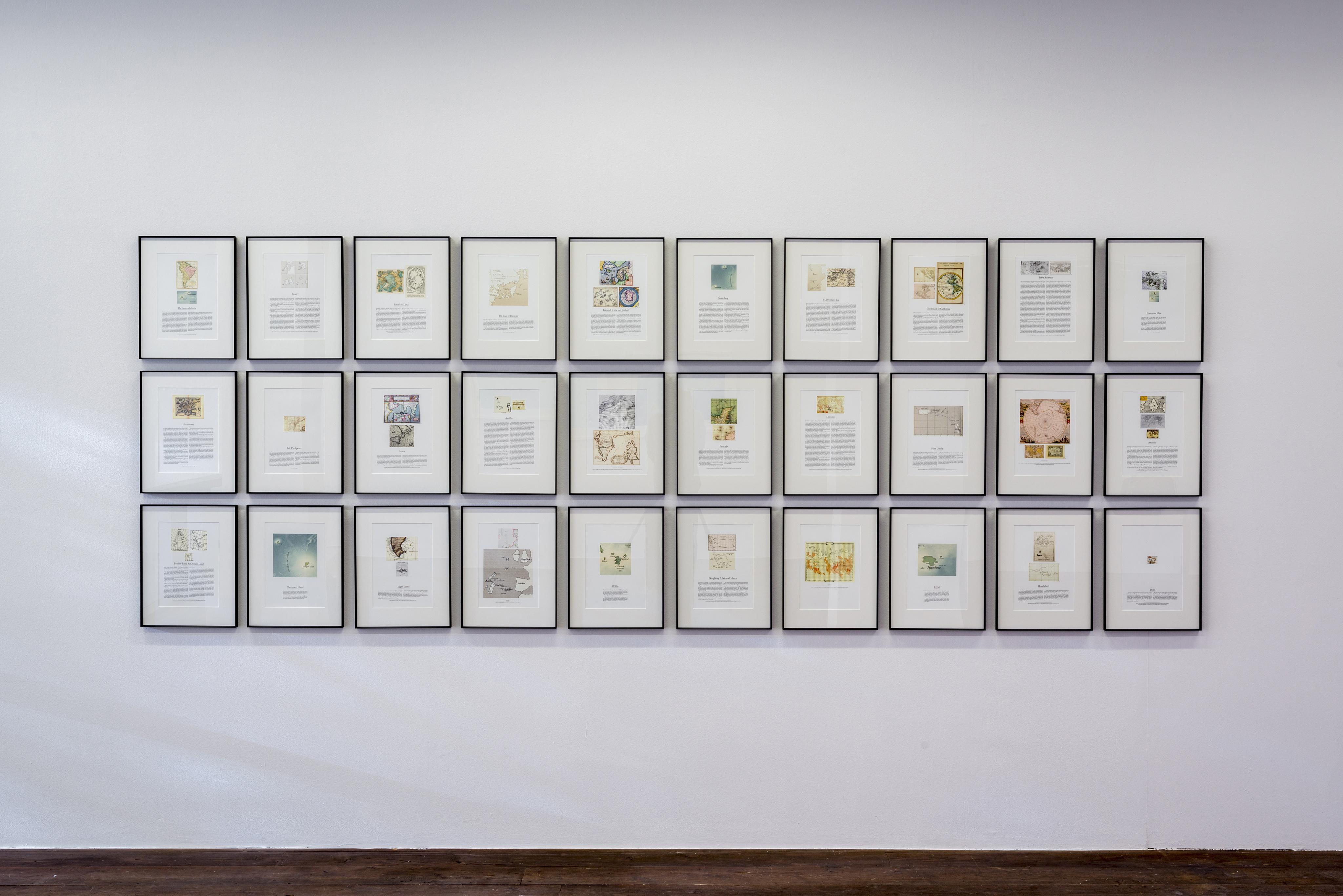 Agnieszka Kurant Archive of Phantom Islands (2013)