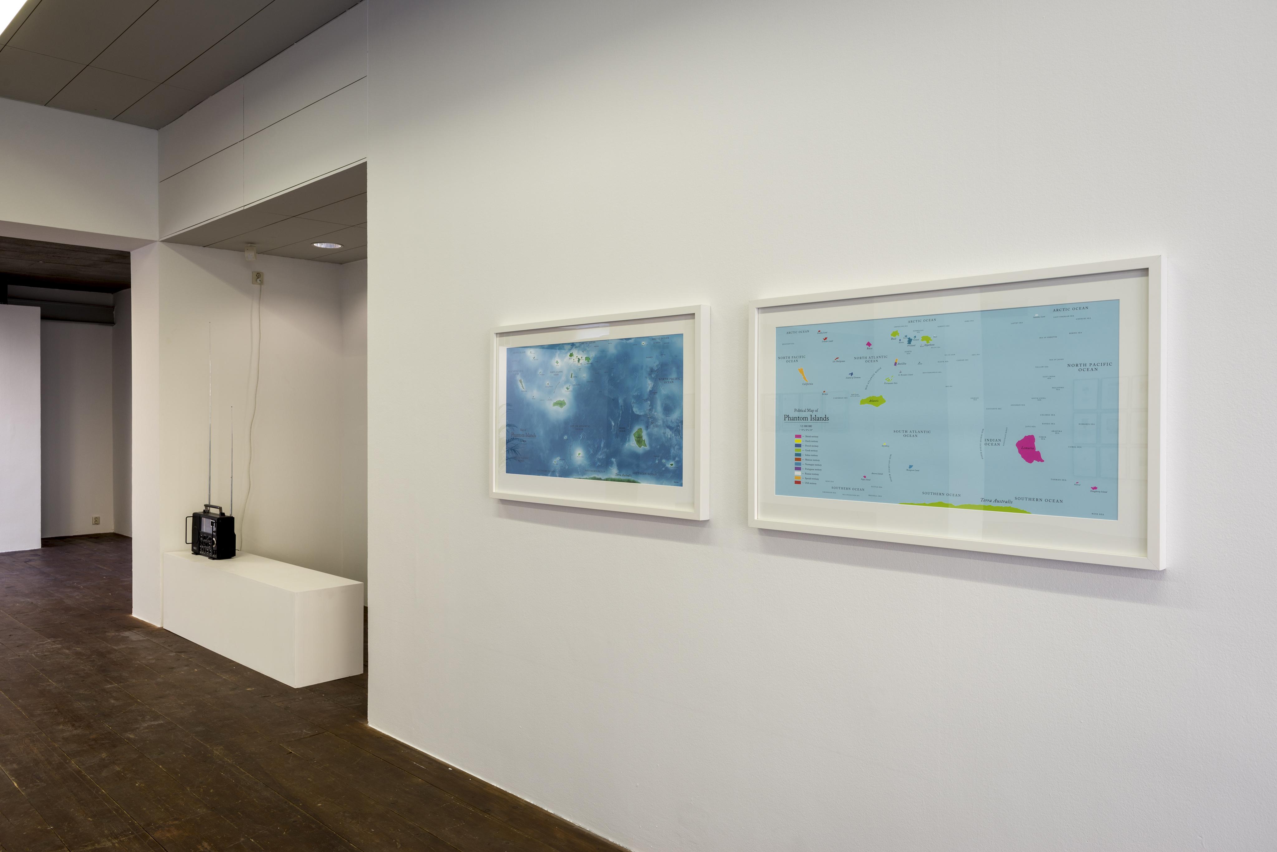 Agnieszka Kurant Maps of Phantom Islands (2013)