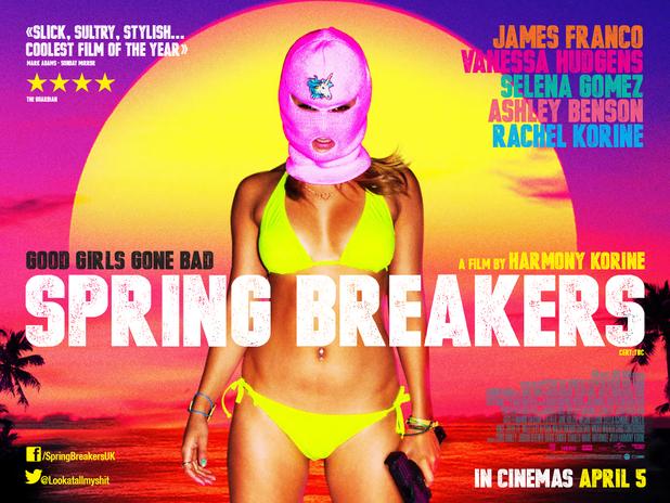 Spring Breakers, Harmony Korine, 2012