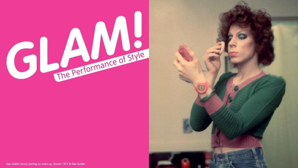 Glam!, Tate Liverpool, plakat