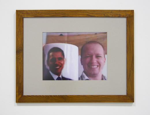 Honza Zamojski, Autoportret (ruszam prezydencko jak Barack Obama), 2010-2011