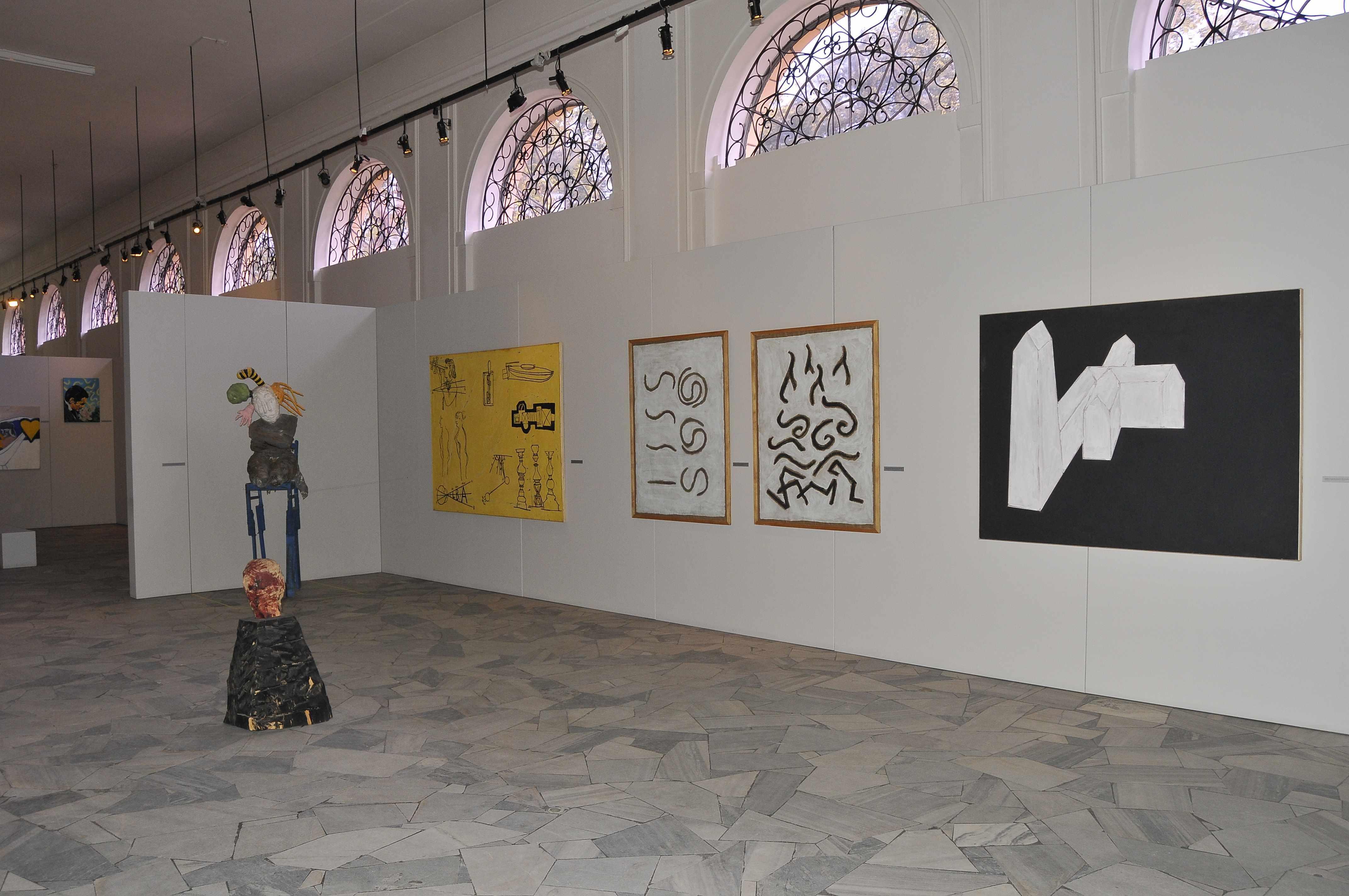 Uśpiony kapitał. Kolekcja Barbary iAndrzeja Bonarskich, Oranżeria Muzeum Pałacu wWilanowie, 2012