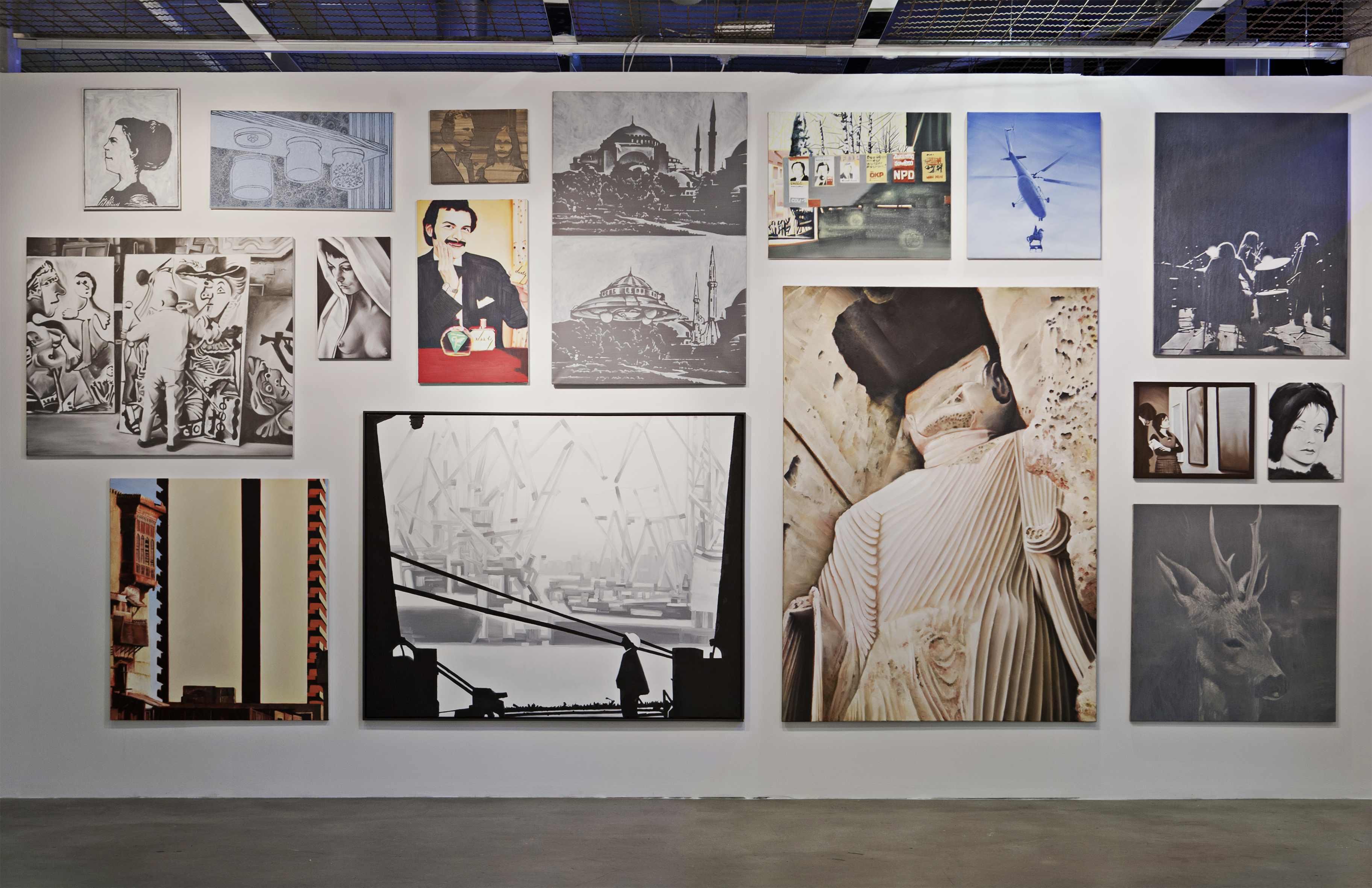 Sławomir Elsner, obrazy zserii Panorama, 2006
