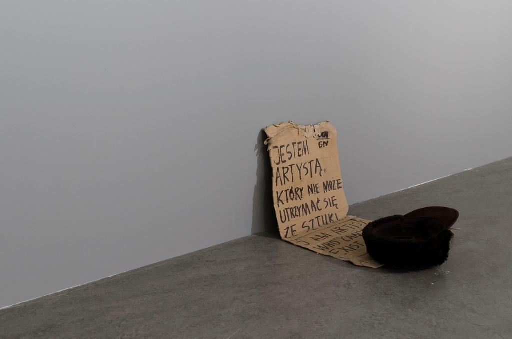 Arek Pasożyt Jestem artystą 2011 (dokumentacja