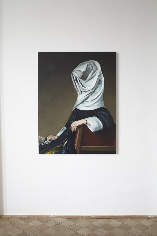 Maria, olej napłótnie, 130x100 cm, 2013