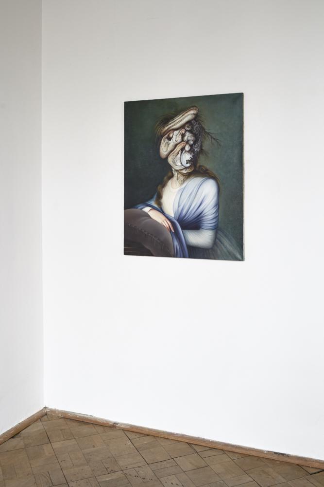 Ewa Juszkiewicz Portret damy 2013