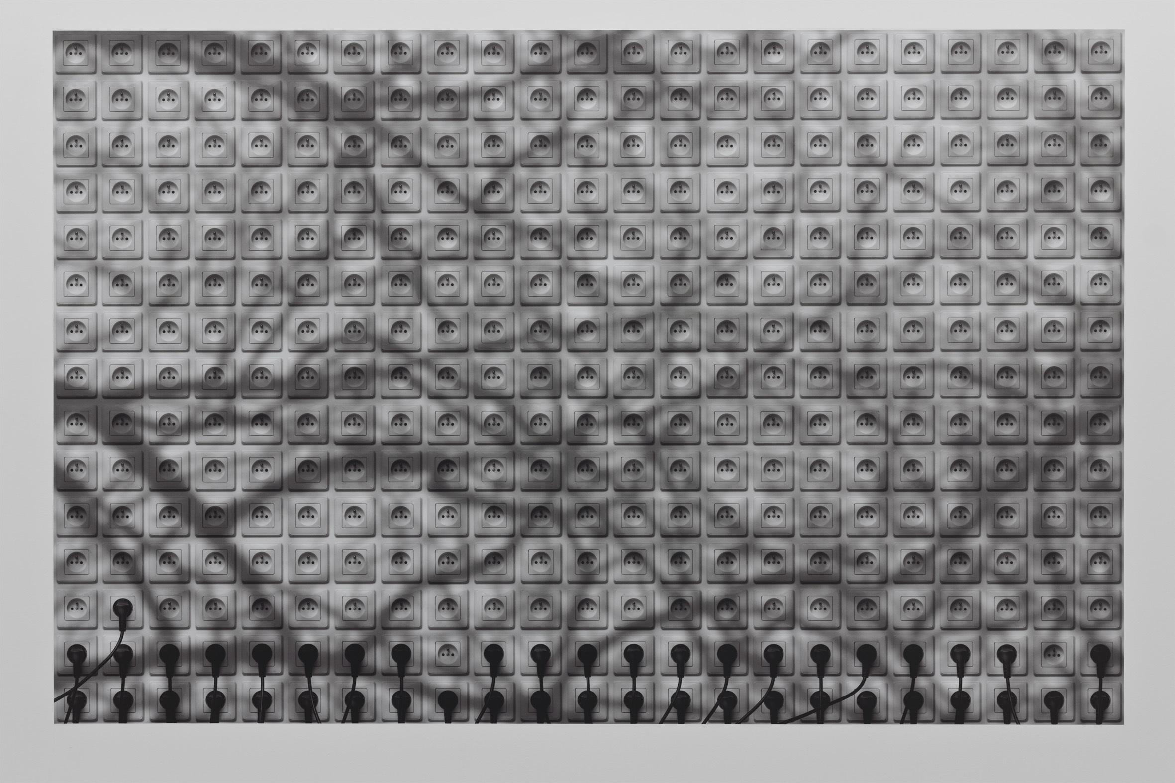 """Mateusz Sadowski, """"Obrazy nieplanowane"""", 2014, montaż cyfrowy, c-print"""
