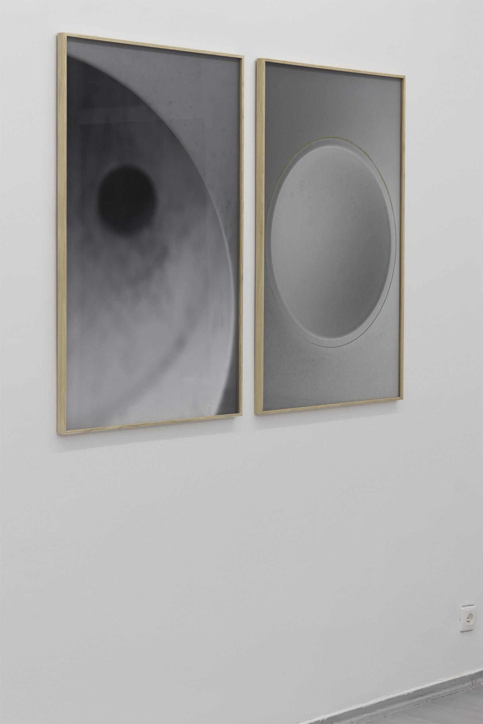 "Mateusz Sadowski, dyptyk zcyklu ""Raz nazawsze"", 2014, fotografia"