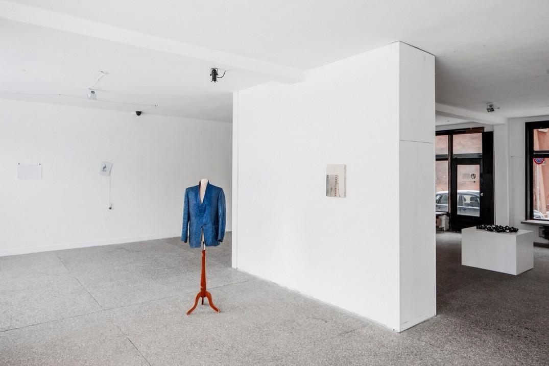 część ekspozycji Oskara Dawickiego, dzięki uprzejmości Gdańskiej Galerii Miejskiej