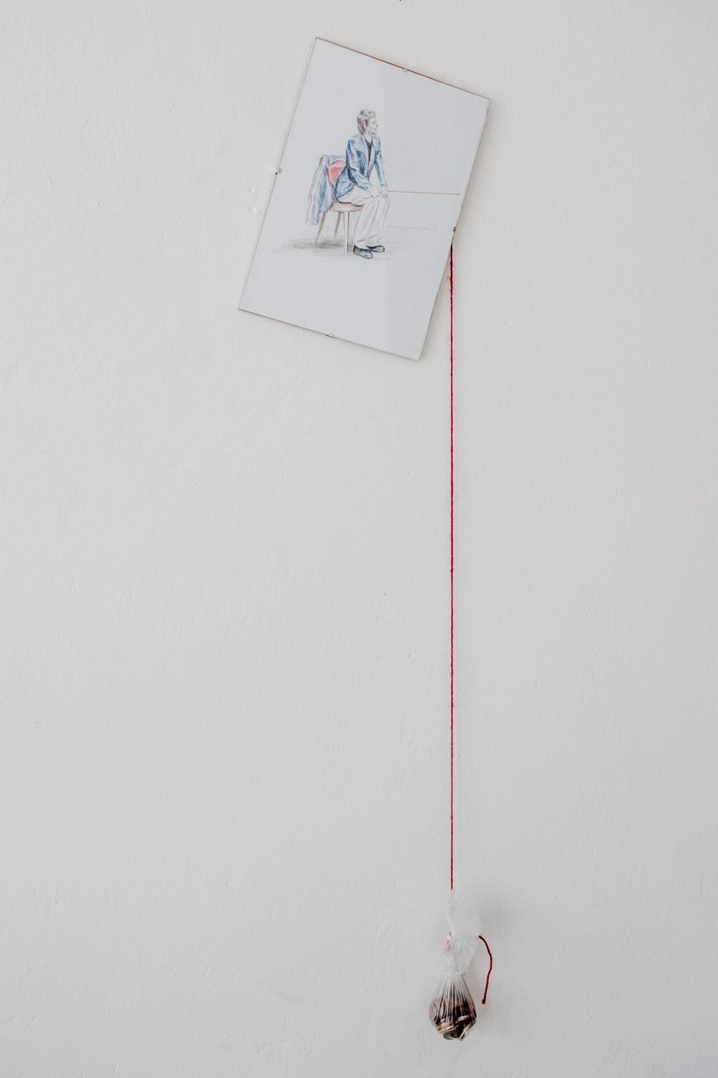 """Oskar Dawicki, """"Ćwiczenie zrównowagi"""", 2012, dzięki uprzejmości Gdańskiej Galerii Miejskiej"""