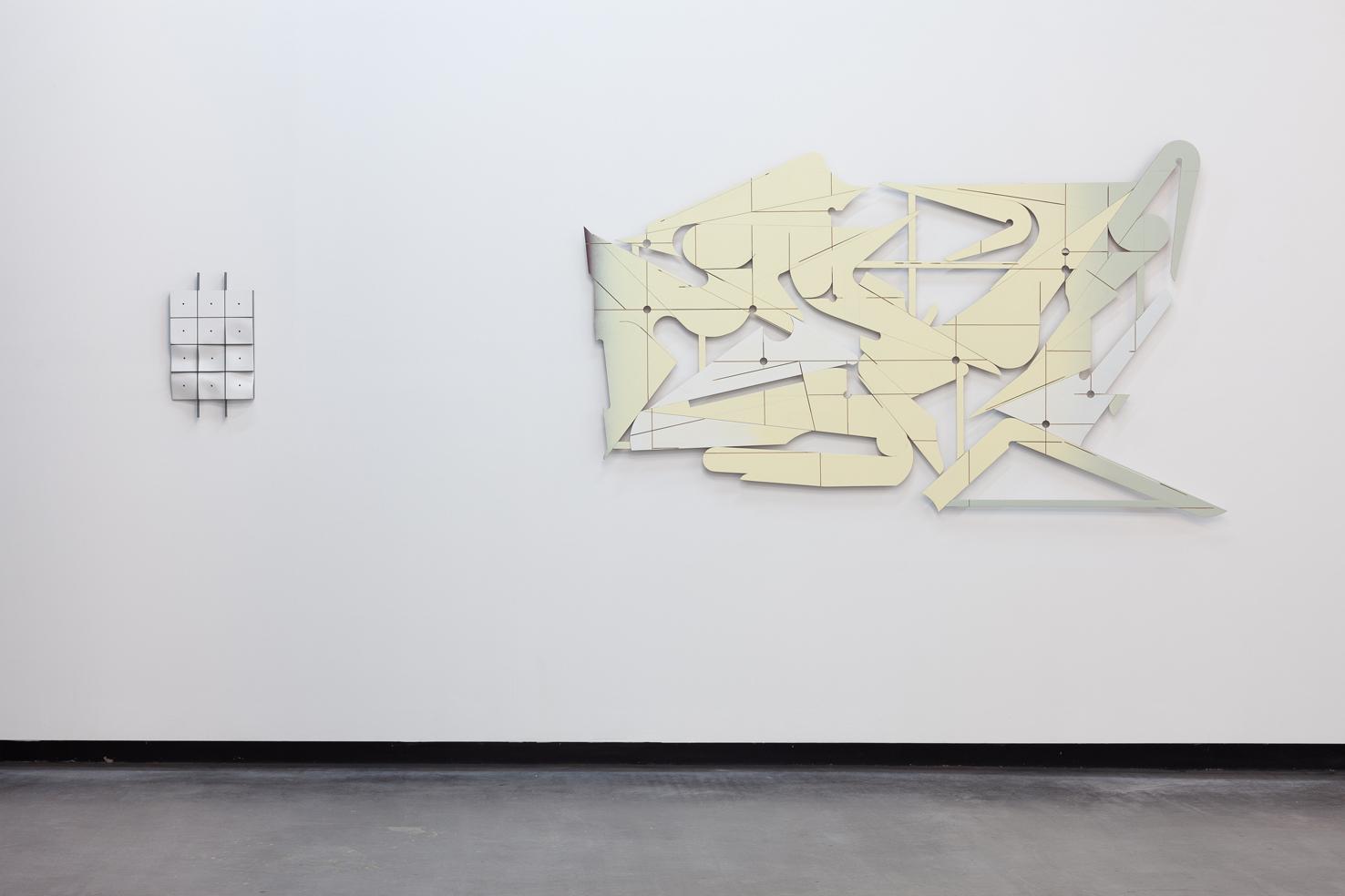 Benjamin Bronni, Somewhere Between - Kantum, 2014. Widok wystawy. Dzięki uprzejmości Galerie Parrotta Contemporary Art