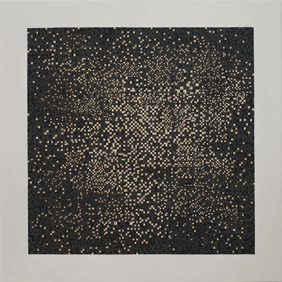 Mateusz Szczypiński, Black Square, 2014. Dzięki uprzejmości Galerie Parrotta Contemporary Art