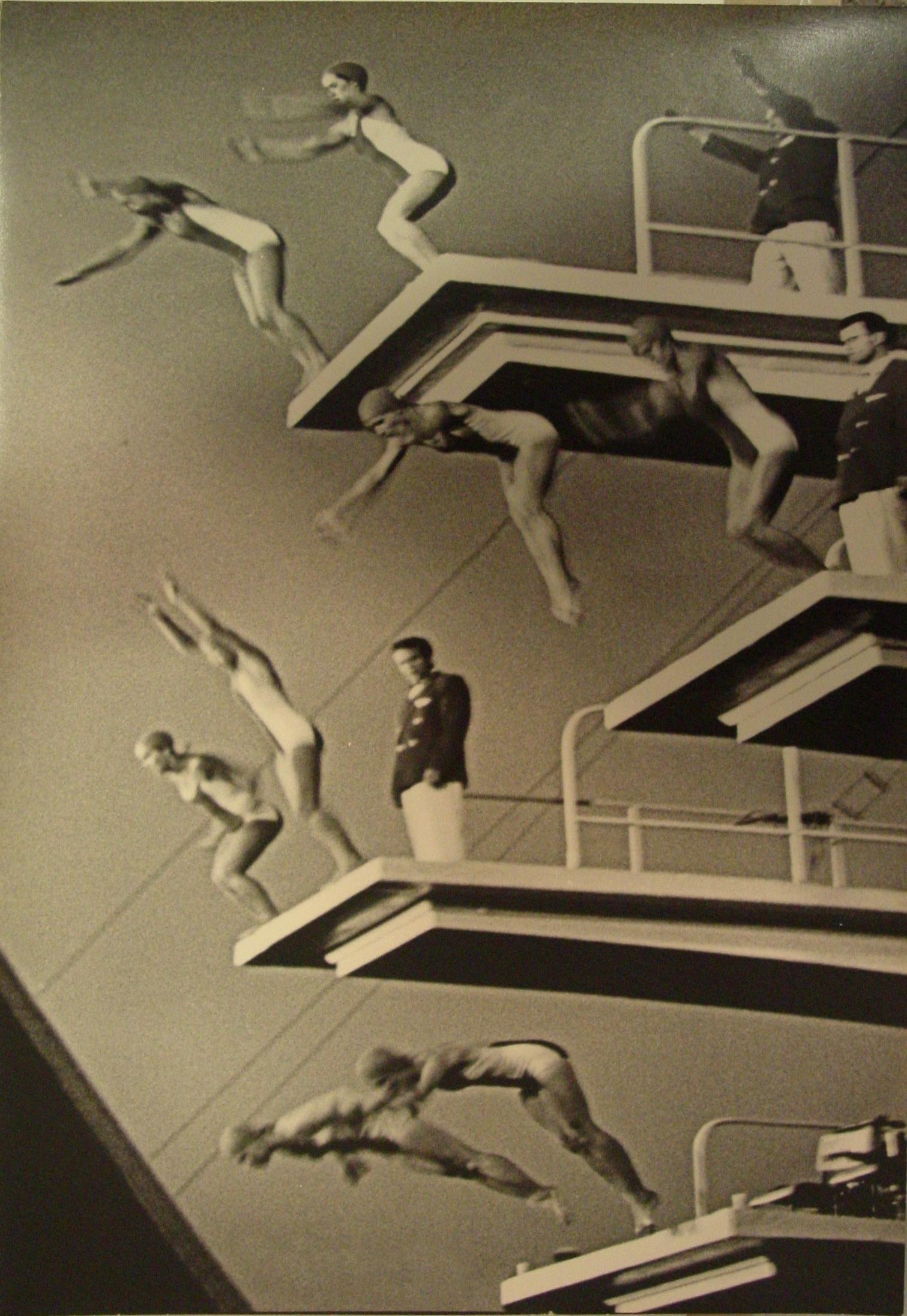 Lev Borodulin, Water Festival, 1959, odbitka żelat. z1973