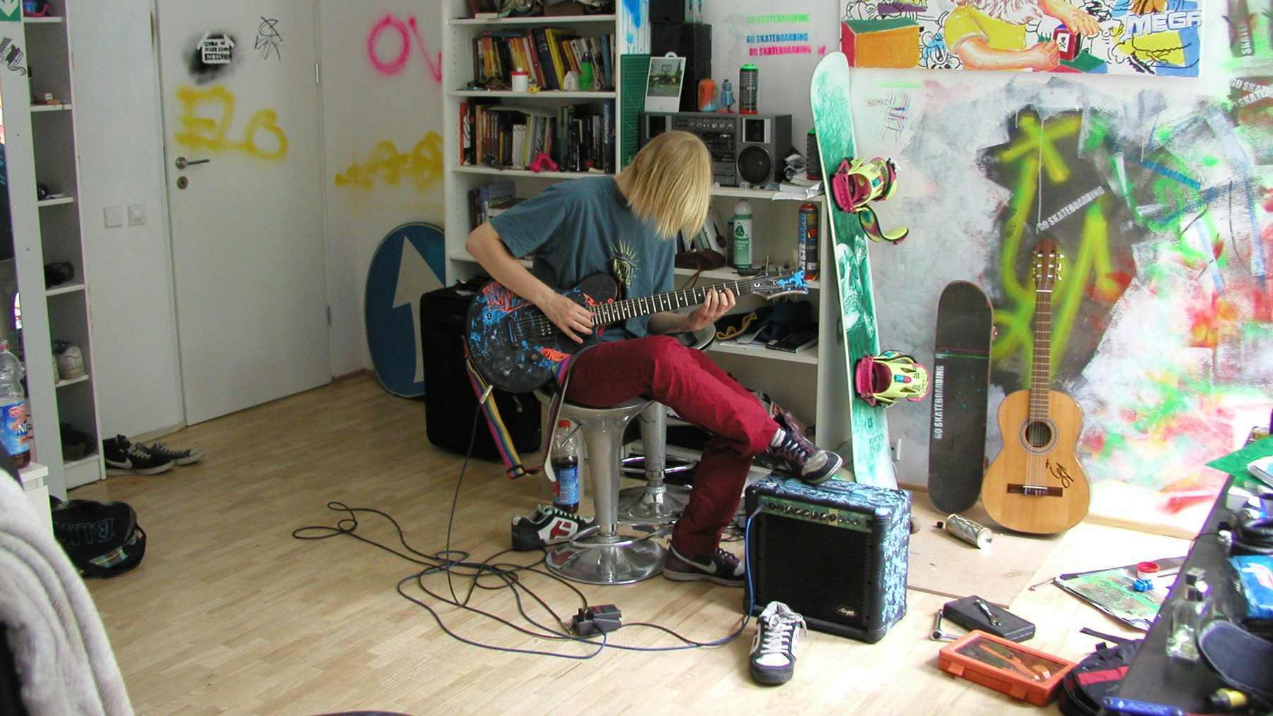 Zuzanna Janin, All That Music!, 2009, stop klatka zinstalacja wideo