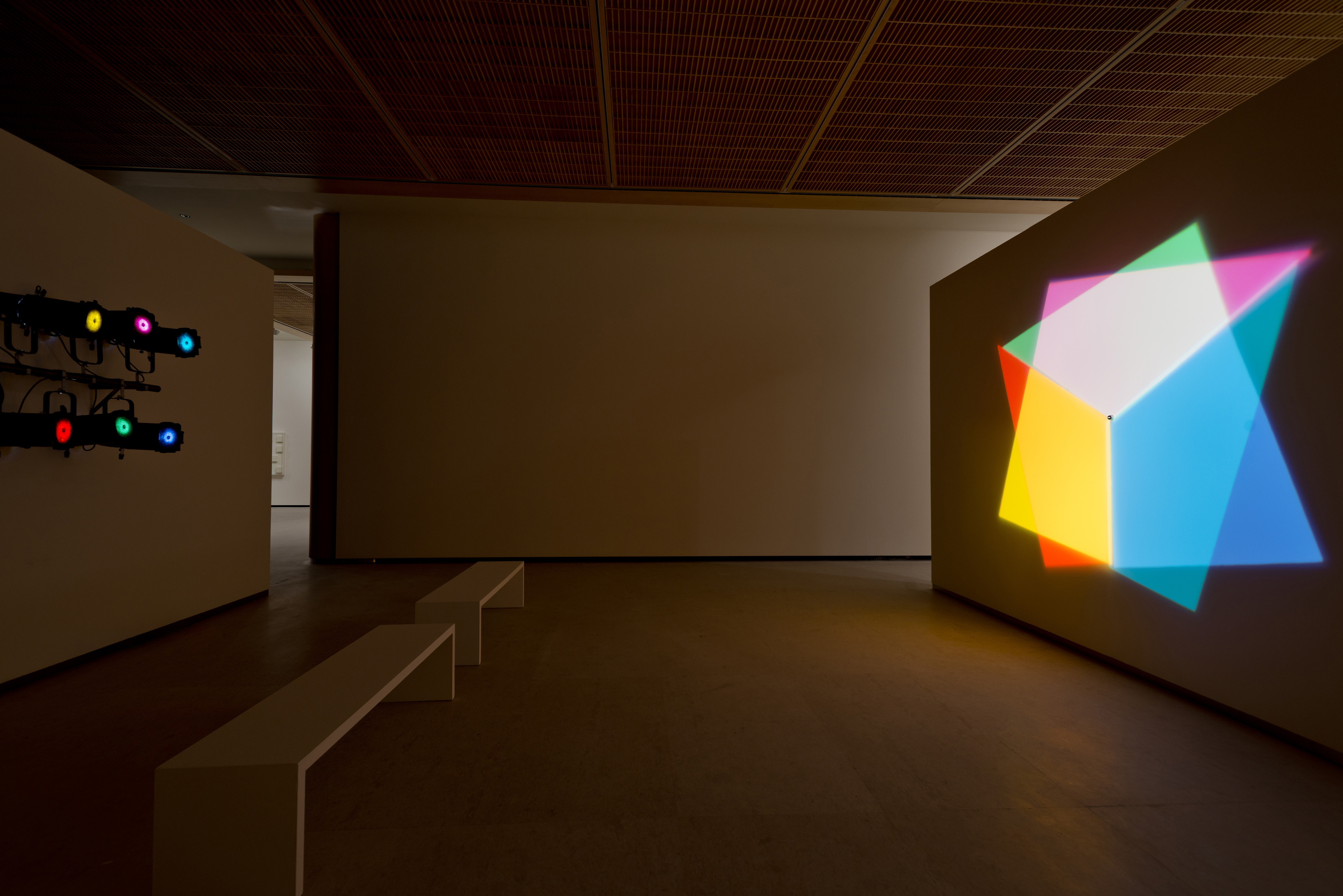 "Olafur Eliasson, ""Abstract Afterimage Star"" (2008), Kolekcja Grażyny Kulczyk, fot.Andrés Valentín Gamazo"