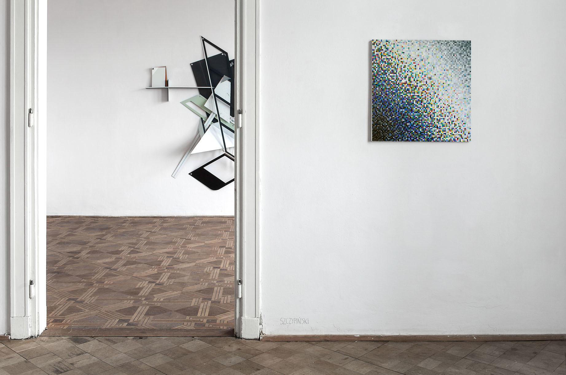 Benjamin Bronni & Mateusz Szczypiński, Somewhere Between, widok wystawy wlokal_30