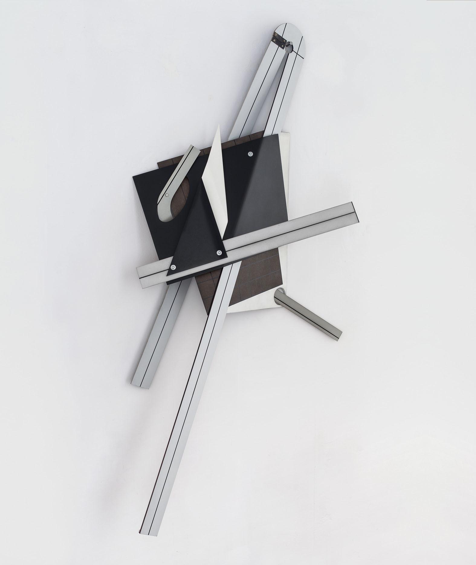 Benjamin Bronni, MT-8/13-13C, 2013, MDF, metal, lakier, ok. 130 x 80 x 20 cm