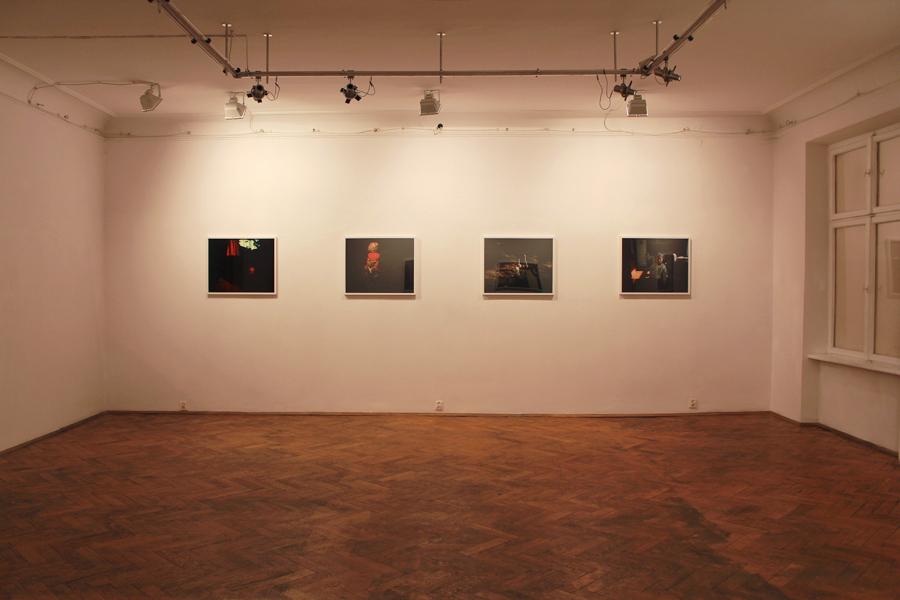 """Karwowski, """"Rysa"""", widok ogólny wystawy"""