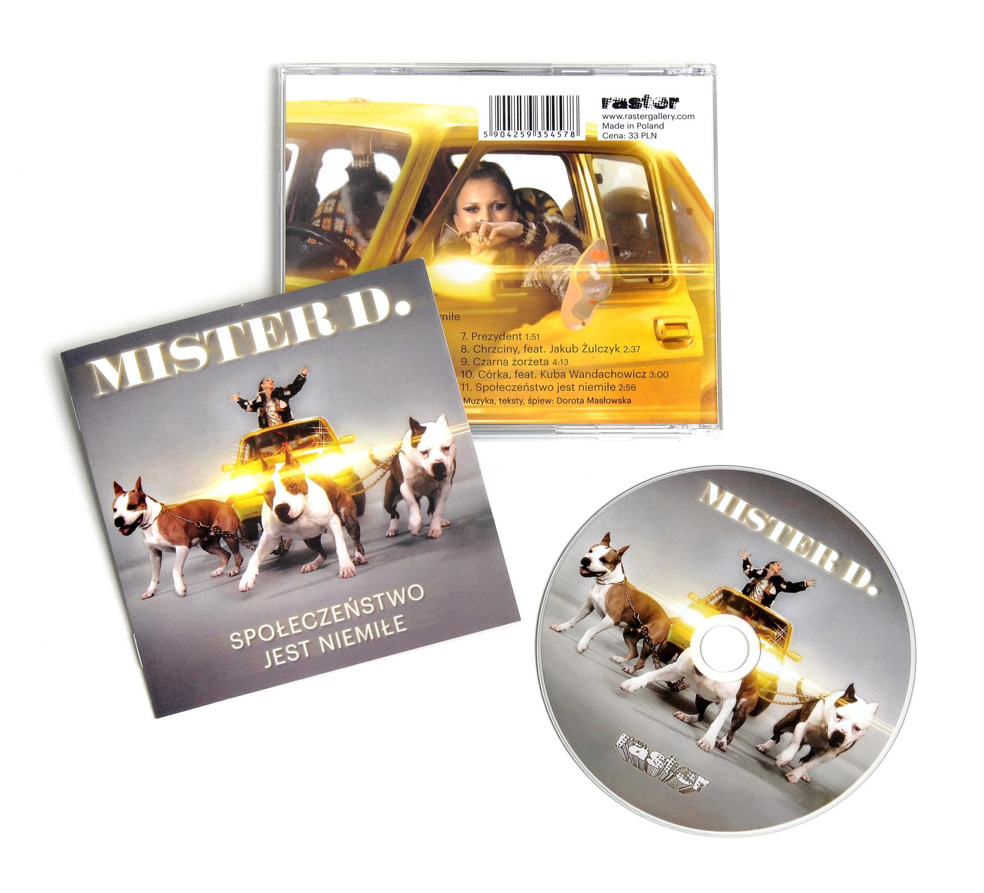 Płyta Mister D.