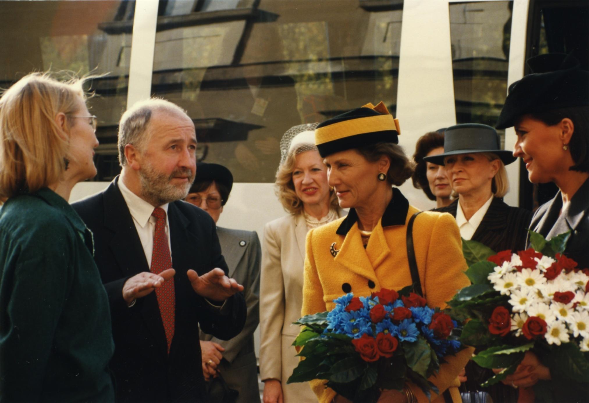 Wizyta królowej Norwegii, 1996 rok