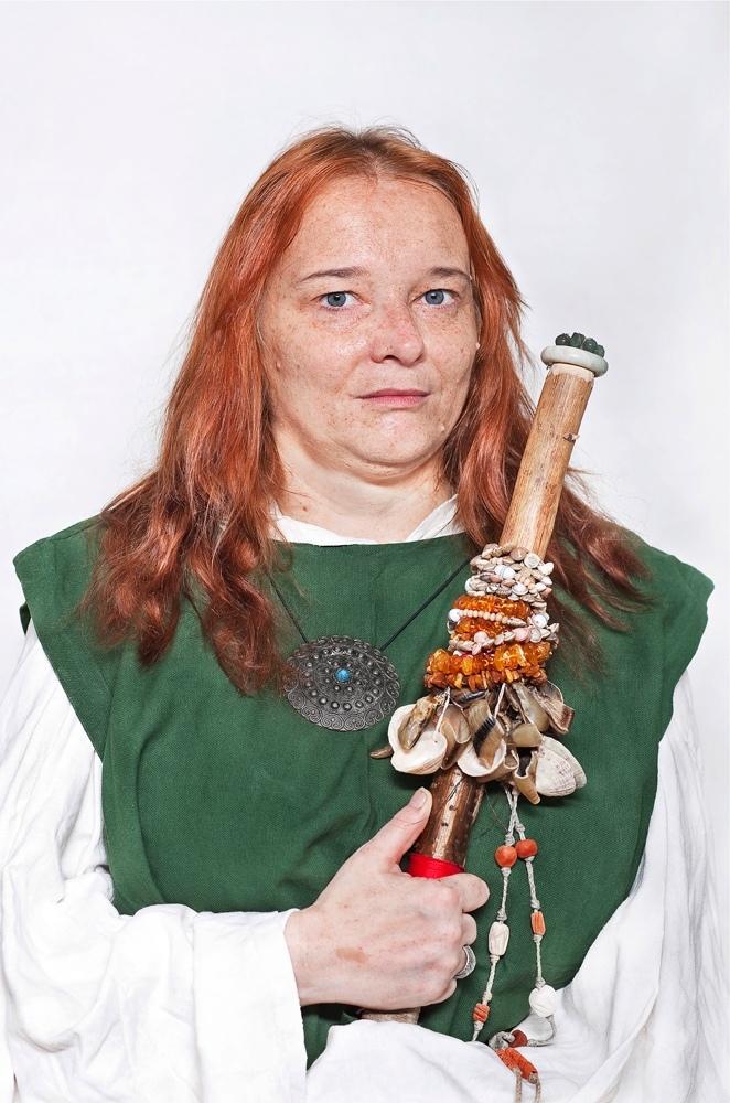 Katarzyna Majak, Elwinga - Druidka, zcyklu Kobiety Mocy