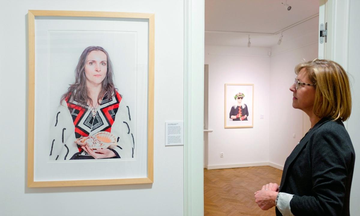 """Katarzyna Majak, """"Kobiety mocy"""", galeria EGO, 2014"""