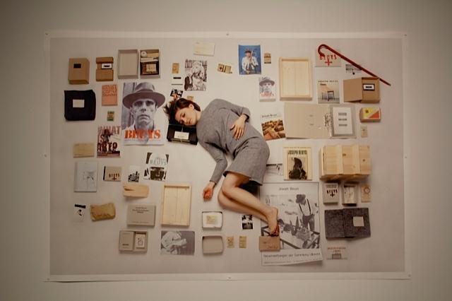 """Anita Mikas, """"Beuys, Beuys, Beuys..."""", 2014 wydruk cyfrowy"""