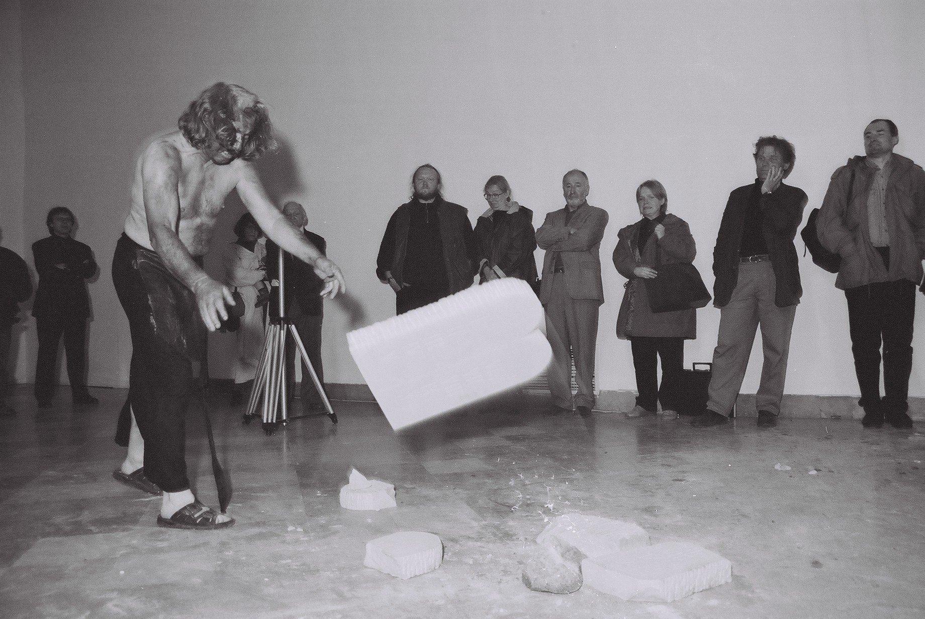 Performance Zbigniewa Warpechowskiego, CSW Zamek Ujazdowski
