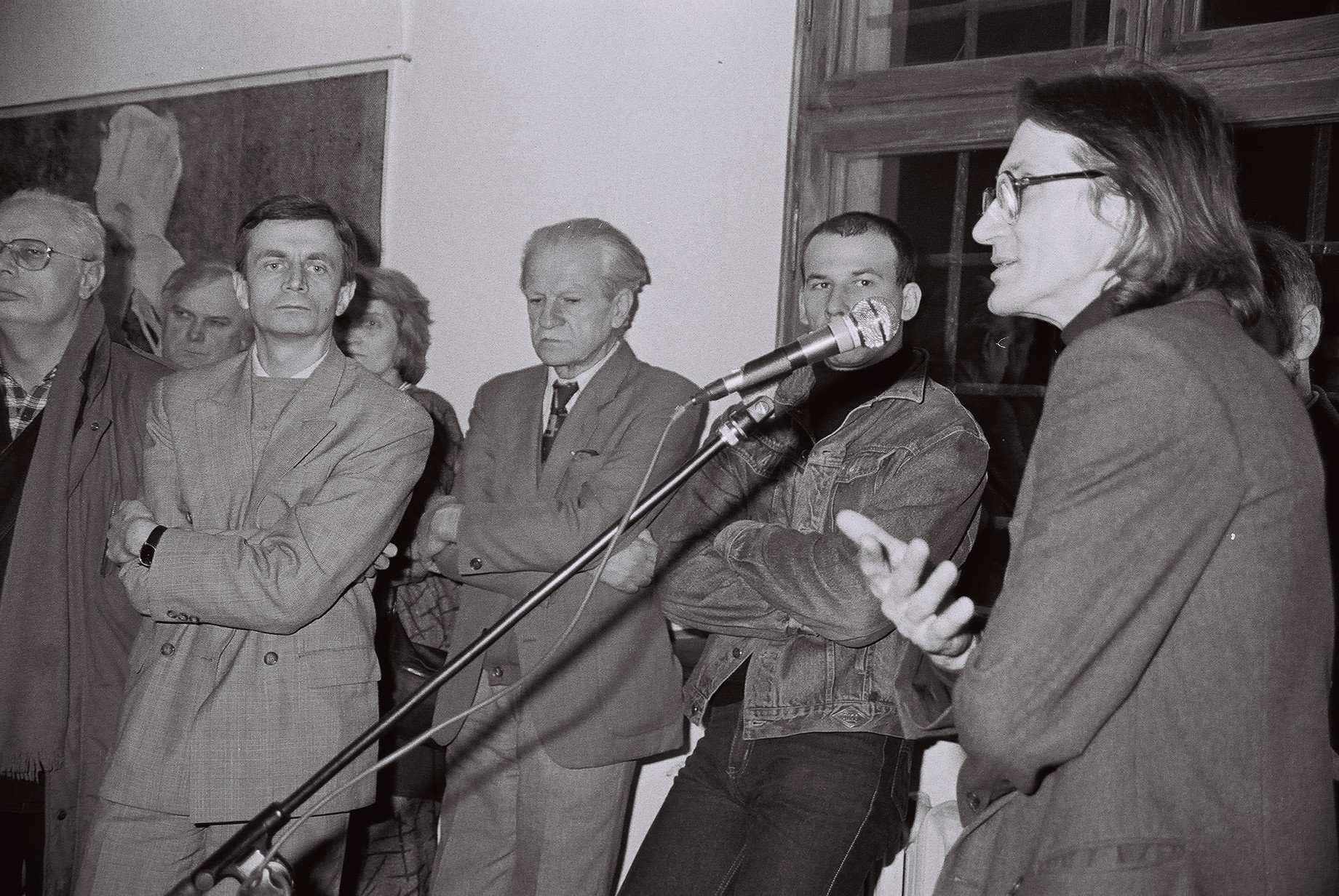 """""""Idee poza ideologią"""", wernisaż, 1994"""