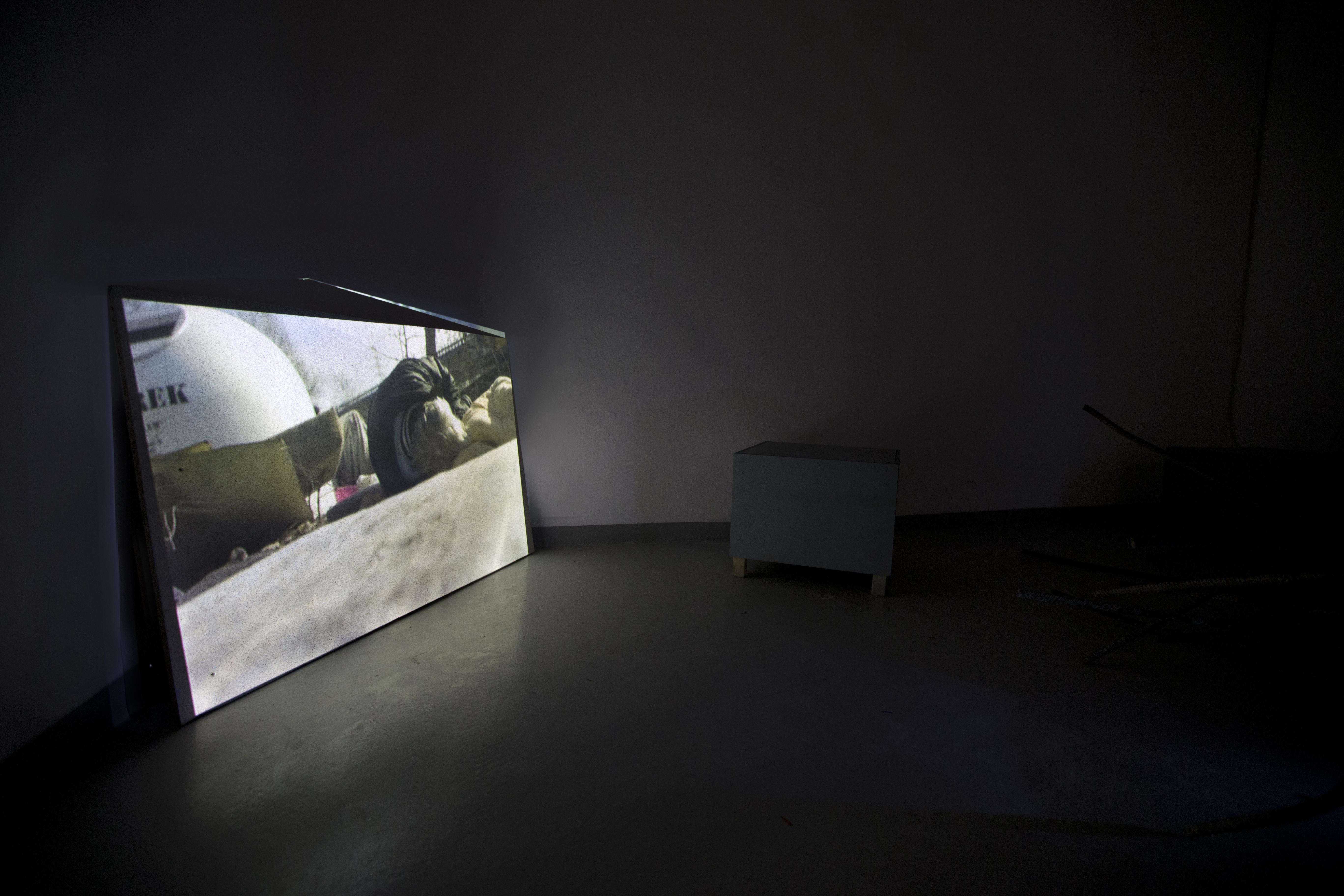 """Łukasz Surowiec, """"Szczęśliwego Nowego Roku 4, wystawa: """"APlace Where WeCould Go"""", CSW Kronika, Bytom"""