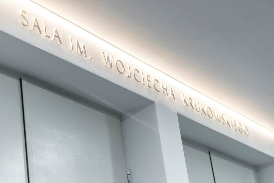 W poniedziałek 14 kwietnia odbyła się uroczystość nadania im.Wojciecha Krukowskiego sali Laboratorium CSW