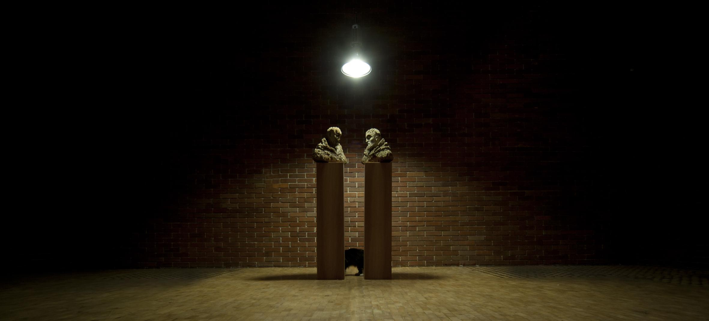Homo Anobium St. Francis 100% Sculpture, Czekalska+Golec